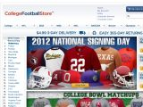 Collegefootballstore Coupon Codes