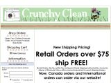 Crunchy Clean Coupon Codes