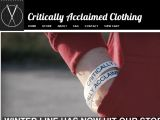Criticallyacclaimedclothing.co.uk Coupon Codes