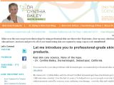 Dr. Cynthia Bailey Skin Care Coupon Codes