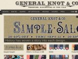 General Knot & Co. Coupon Codes