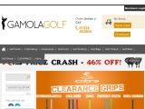 Gamola Golf UK Coupon Codes