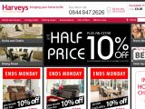 Harveys Furniture UK Coupon Codes
