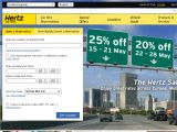Hertz Car Rental UK Coupon Codes
