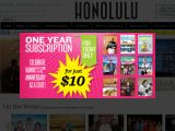 Honolulu Magazine Coupon Codes