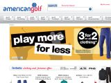 American golf UK Coupon Codes