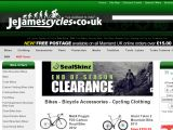 J e james cycles UK Coupon Codes
