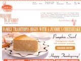 Juniors Cheesecake Coupon Codes