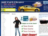 Auto parts cheaper Coupon Codes