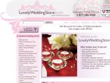 Lovely wedding store Coupon Codes