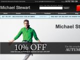 Michael Stewart Menswear UK Coupon Codes