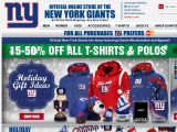 New York Giants Shop Coupon Codes