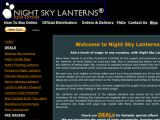 Night Sky Lanterns UK Coupon Codes