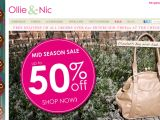 Ollie & Nic Coupon Codes