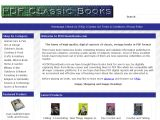 PDF Classic Books, Bookstore Coupon Codes