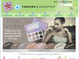 Pandora's Makeup Box Coupon Codes