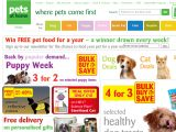 Pets at Home is an online pet supply store that offers a wide range of pet supplies for almost all types of animals. Choose pet supplies for dogs, cats, fish, reptiles, birds, equestrian, and more (they even have a section for wildlife!).