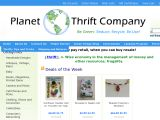 Planet Earth Thrift Company Coupon Codes