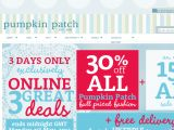 Pumpkin Patch UK Coupon Codes