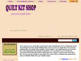 QUILT KIT SHOP precut kits Coupon Codes
