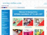 Sewing Online Coupon Codes