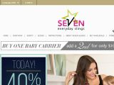 Seven Everyday Slings Coupon Codes