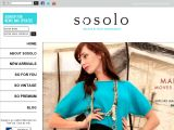 Sosolo UK Coupon Codes