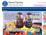SweetFactory Coupon Codes