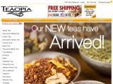 Teaopia Canada Coupon Codes