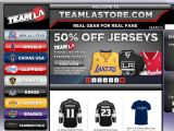 Team LA Online Store Coupon Codes