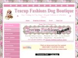 Teacup Fashions Dog Boutique Coupon Codes