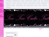 Too Too Cute Tutus Coupon Codes