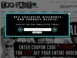 Too Fast Coupon Codes