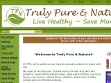 Truly Pure and Natural Coupon Codes