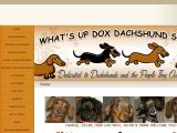What's Up Dox Dachshund Shoppe Coupon Codes