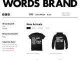WORDS BRAND Coupon Codes