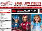 Wholesale Costume Club Coupon Codes