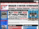 Bigger Faster Stronger Coupon Codes