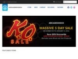 Arcadeshock.com Coupon Codes