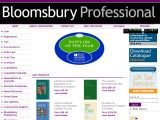 Bloomsburyprofessional.com Coupon Codes