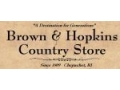 Brown & Hopkins Country Store Coupon Codes