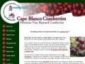 Capeblancocranberries.com Coupon Codes