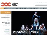 Canadian Opera Company Coupon Codes