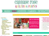 Cabbage Rose Quilting Shop Coupon Codes