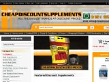 Cheapdiscountsupplements.com Coupon Codes