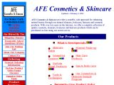 AFE cosmetics & skincare Coupon Codes