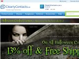 Clearly Contacts Canada Coupon Codes