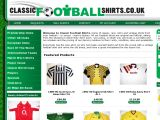 Classic Football Shirts  UK Coupon Codes
