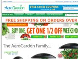 AeroGarden Official Store Coupon Codes